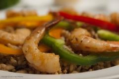Shrimp and rice macro